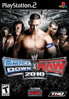 WWE Smackdown vs. Raw 2010 PS2 ISO