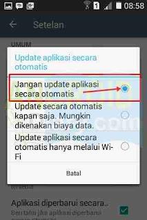 Auto update aplikasi adalah salah satu fitur yang dimiliki google play store Cara Menghentikan Fitur Auto Update Aplikasi Android