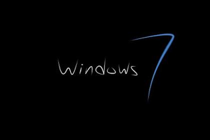 Instal Windows 7 Via CD dan Flashdisk