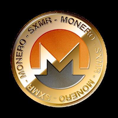 モネロ(Monero)のフリー素材(金貨ver)