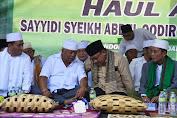 Anggota DPR RI bersama PWNU NTB Hadiri Haul Akbar Wali Qutb di Mataram