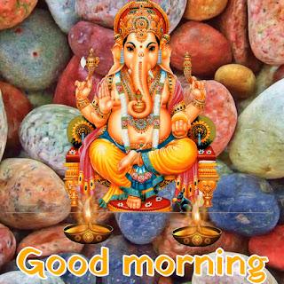 good morning cute ganesh ji images