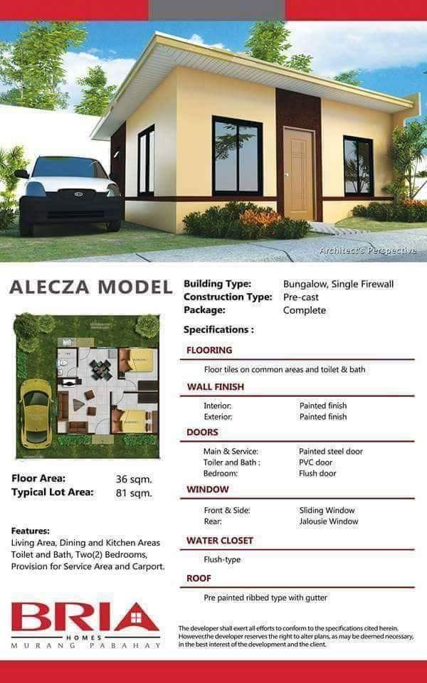 Bria Homes Majada Out Calamba (House and Lot for Sale in Calamba