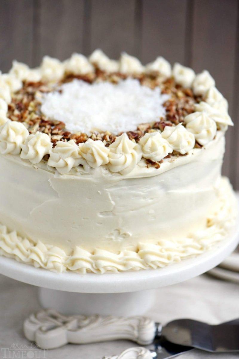 CARROT CAKE RECIPES