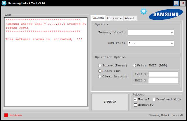 Samsung Frp Unlock  Tool V2.20.11.4 Free Download