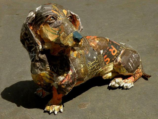 Скульптуры из мусора Уилла Курца 27