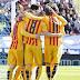 Levante 0-Barcelona 2. Jornada 23 Liga Española
