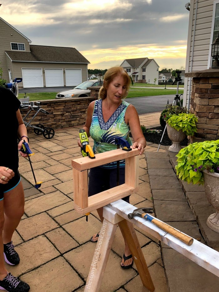 Bench Project - creating the legs