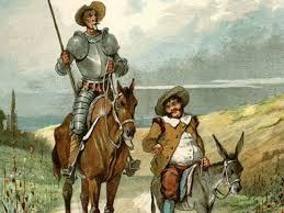 Consejo de Quijote a Sancho antes de ser gobernador de  la ínsula (visto de una perspectiva Cambitera y de RD)