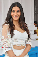 Telugu Actress Amyra Dastur Stills in White Skirt and Blouse at Anandi Indira Production LLP Production no 1 Opening  0056.JPG