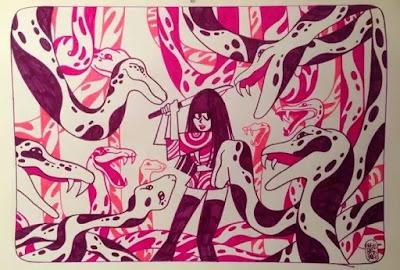 Alexis Bacci et le eru guro japonais