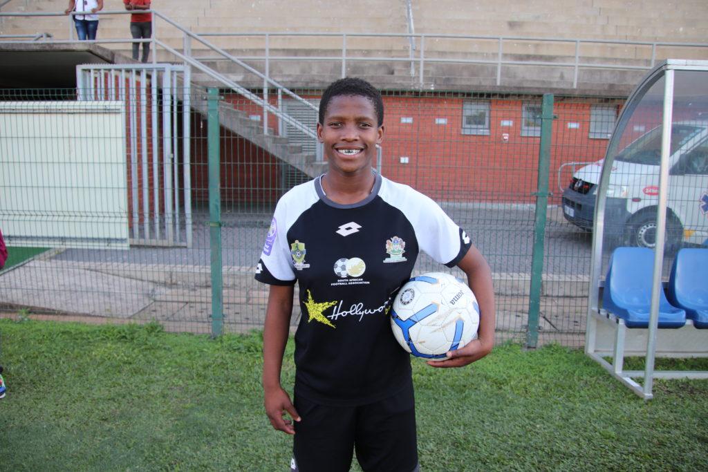 Durban Ladies forward Amanda Mkhize