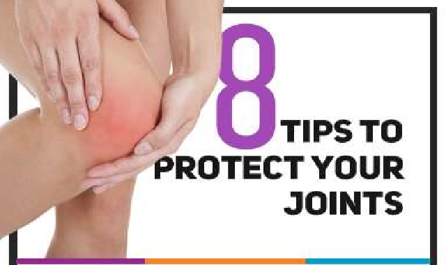8 Tips to Protect Your Joints #infographic