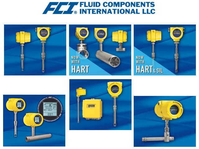 FCI Mass Flow Meters