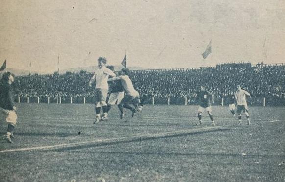 Chile y Argentina en Campeonato Sudamericano de 1920