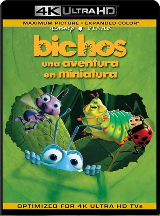 Bichos: Una aventura en miniatura (1996) 4K 2160p UHD [HDR] Latino [GoogleDrive]