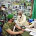 Kakesdam IM Pantau Proses Vaksinasi 546 Prajurit Babinsa Jajaran Kodim 0101/BS di Banda Aceh