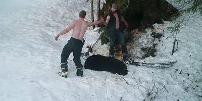 Un padre y su hijo son visto Matando Osos protegidos en Alaska