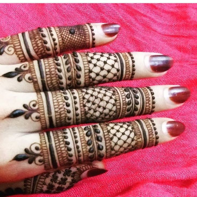 Stand Alone Lace Designs : Latest finger mehndi design ideas for eid bling sparkle