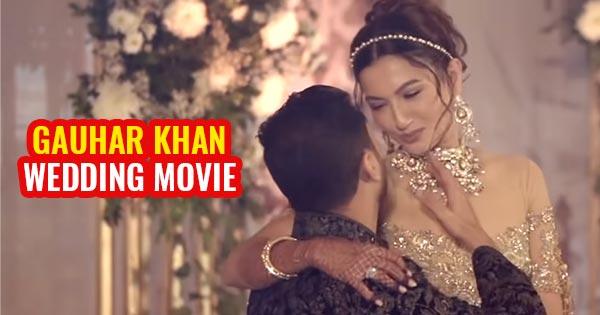 gauhar khan wedding video indian actress