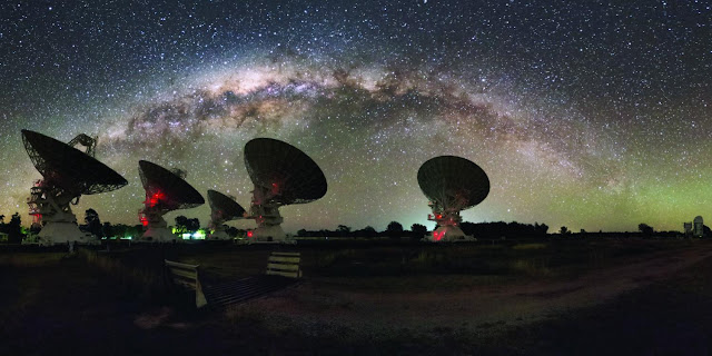 Dark 'noodles' may lurk in the Milky Way