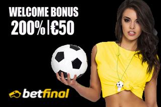 Betfinal Football Bonus