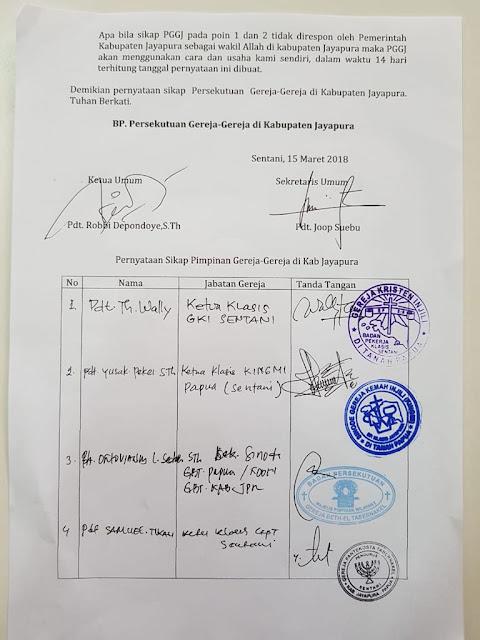 Tersebar 8 Larangan untuk Muslim di Jayapura, Adzan Diantaranya