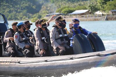 Kapolda NTB Apresiasi DitPolairud dalam Menjaga Wilayah Perairan