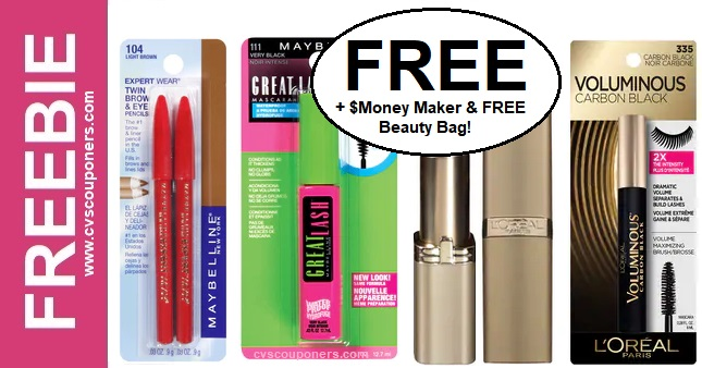 FREE Maybelline & L'Oreal at CVS 714-720