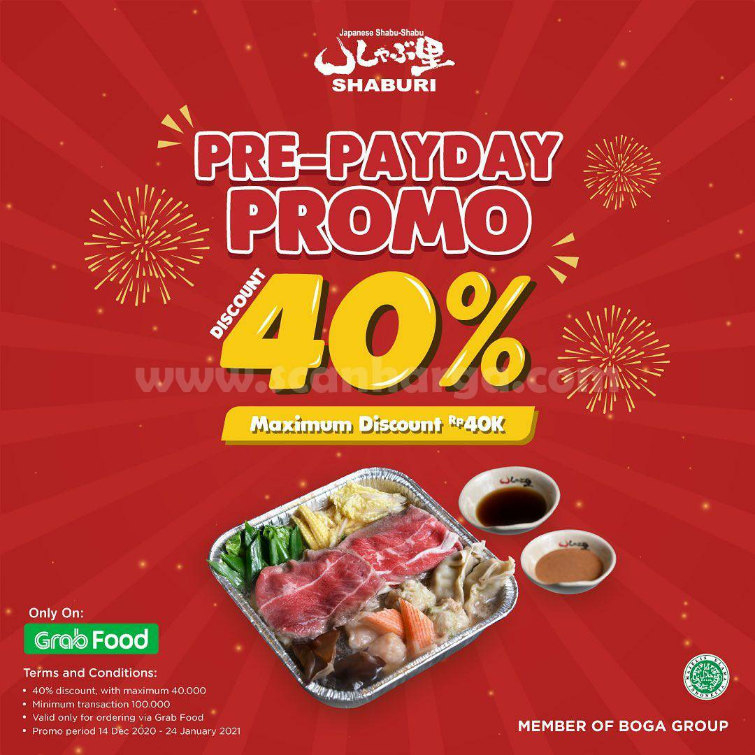 Promo Kintan Buffet Pre-Payday – up to 40% max. discount Rp 40.000