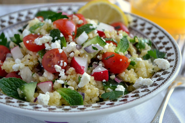 Mediterranean Millet Salad | The View from Great Island