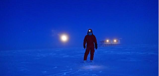 Vito Stanzione in Antartide