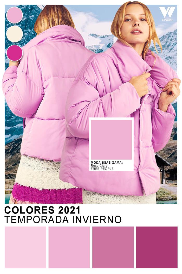 lilas rosas moda colores invierno 2021