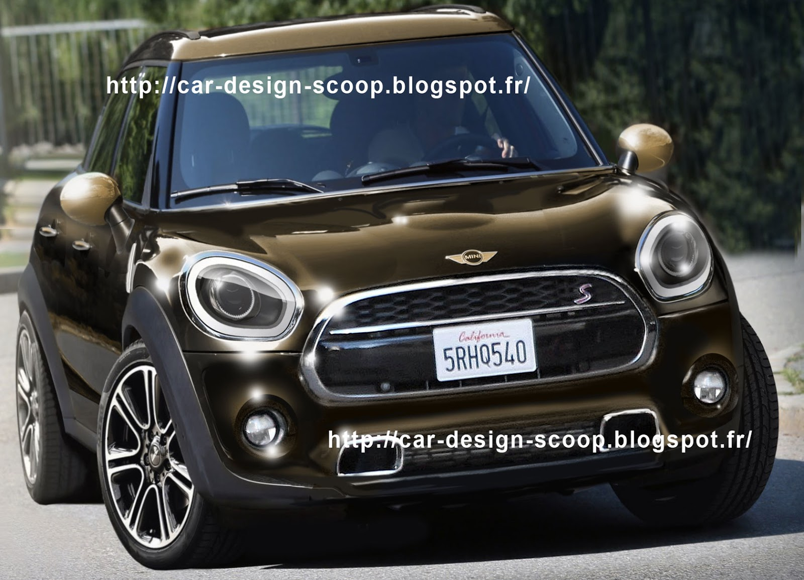 car design scoop scoop et dernieres infos automobile scoop voici la nouvelle mini countryman. Black Bedroom Furniture Sets. Home Design Ideas