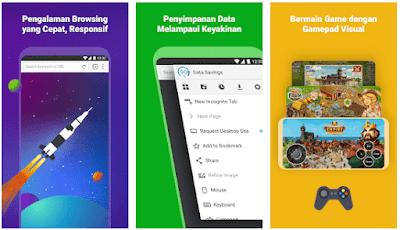 10 Aplikasi Browser Terbaik dan Tercepat Untuk HP Android