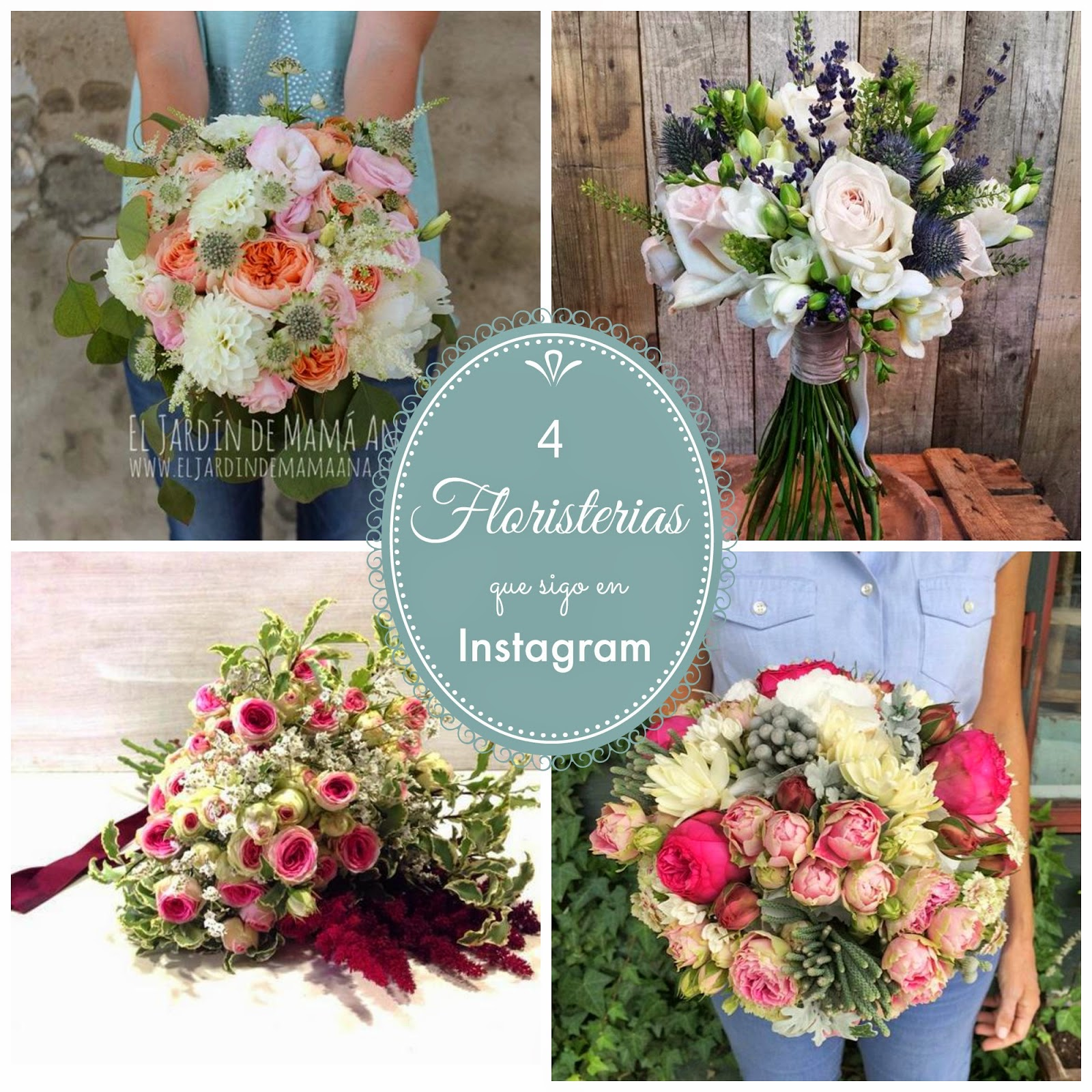 ramos de novia originales decoracion floral blog bodas mi boda gratis