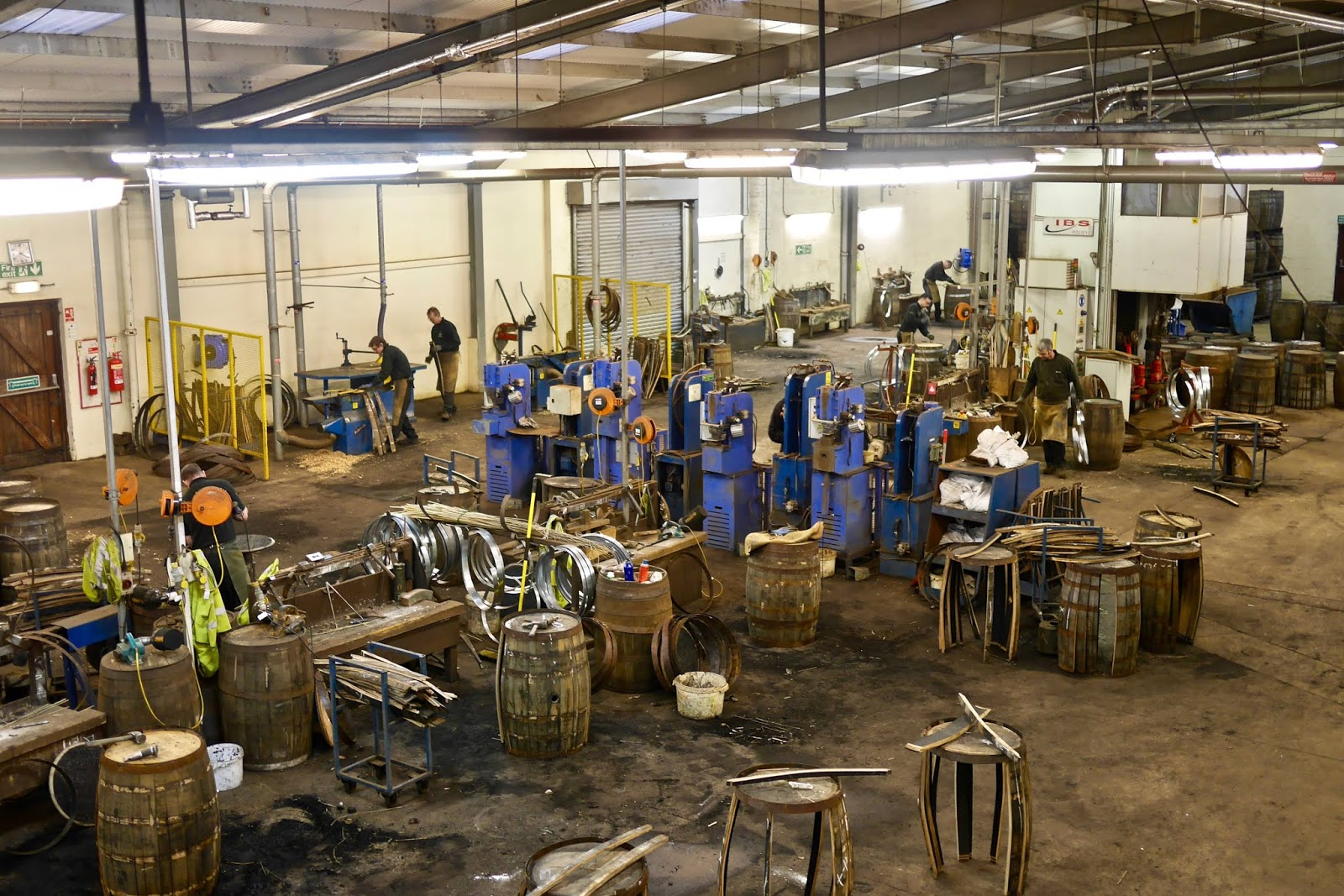 Balvenie Distillery Tour Cooperage
