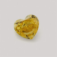 Yellow Heart Shaped 1.1 ct Fancy Diamond