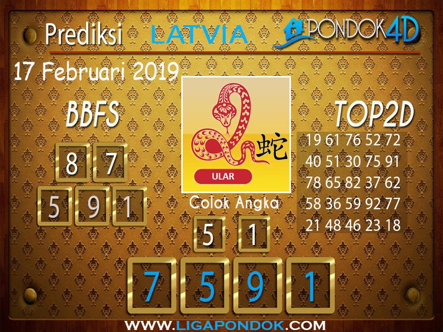 Prediksi Togel LATVIA PONDOK4D 17 FEBRUARI 2019