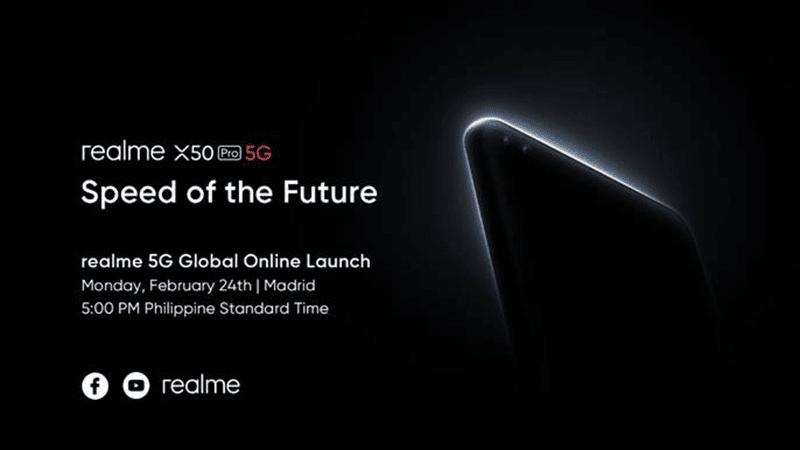 Realme reveals X50 Pro 5G launch details and key features