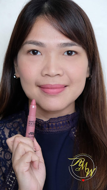 a photo of Make Up For Ever's Artist Lip Blush Review in shade 100 by Nikki Tiu of askmewhats.com
