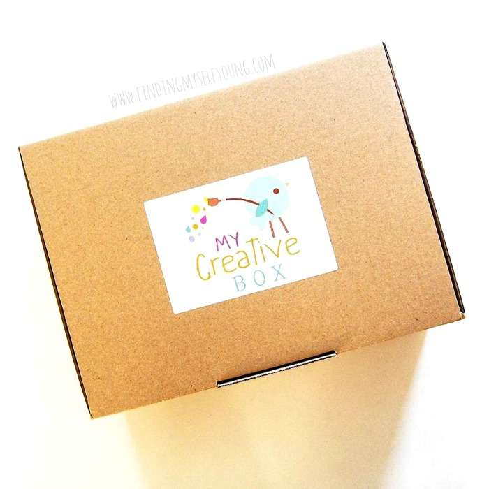 My creative box monthly art and craft activity kit