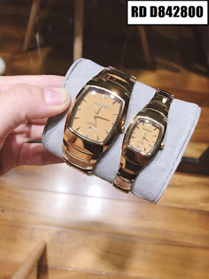 Đồng hồ cặp đôi Rado mặt vuông RD Đ842800