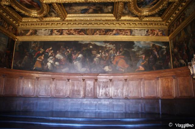 Sala del Consiglio dei Dieci di Palazzo Ducale a Venezia