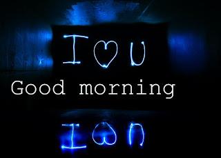 i love u good morning image for lover