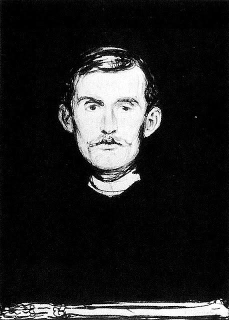 Эдвард Мунк - Автопортрет. 1896