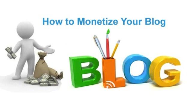 Monetize Blog