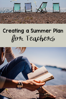 It's easy for summers to slip away from teachers. This time is supposed to be for rest and rejuvenation. Instead, it seems like recovery from burnout. Take back your summers by creating a summer plan. This blog post provides a FREEBIE in getting teachers to step-by-step create the summer they have been dreaming about. Teachers, you can and will have an amazing summer after reading this blog post! #confessionsofafrazzledteacher #summervacation #creatingasummerplan
