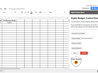 A Good Google Drive Tool to Create and Assign Digital Badges to Students