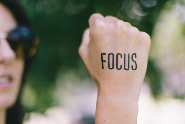 ways to develop focus and achieve success,